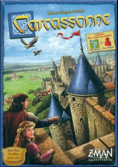 Copertina di Carcassonne