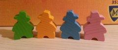 Agricola per famiglie: colori meeple