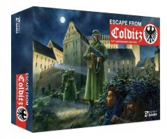 Scatola di Escape from Colditz