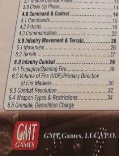 Fields of Fire: indice