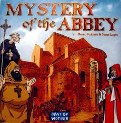 Mystery of the Abbey copertina