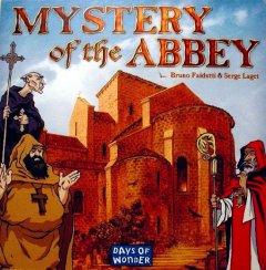 Mystery of the Abbey copertina