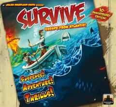 Survive escape from atlantis copertina
