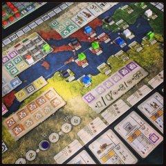 Gentes: tabellone di gioco