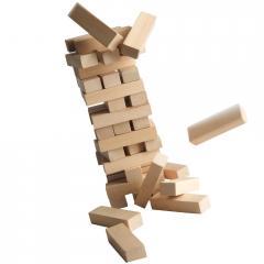 Jenga: torre che crolla