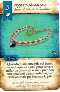 """Carta """"Oggetto Nostalgico"""" del gioco da tavolo La Valle dei Mercanti"""