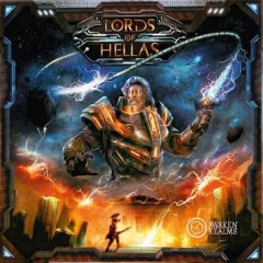 Lords of Hellas copertina