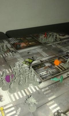 Zombicide fine partita: sopravvissuto contro zombi
