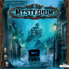 Copertina del gioco cooperativo Mysterium