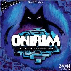Copertina del gioco Onirim, un gioco da fare in solitario o in due giocatori