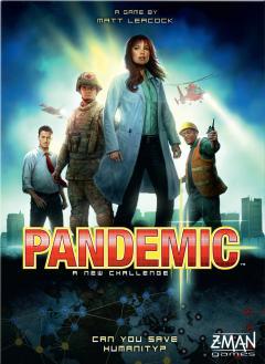 Copertina del gioco da tavolo collaborativo Pandemia