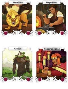Alcune carte presenti in Paper Tales