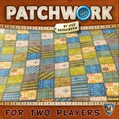 Copertina del gioco per due giocatori di Uwe Rosemberg, Patchwork