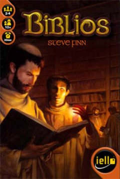 Copertina del gioco da tavolo Biblios