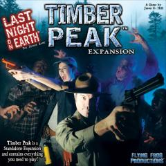 Last Night on Earth: Timber Peak copertina