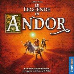 Copertina dell'edizione italiana de Le Leggende di Andor