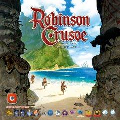 Copertina della nuova edizione di Robinson Crusoe: viaggio verso l'isola maledetta