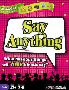 say anythng copertina