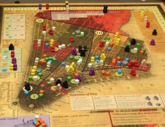 Plancia di gioco di Tammany Hall