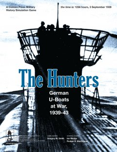 Copertina di The Hunters: German U-Boats at War, 1939-43