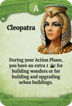 Through the Ages leader Cleopatra
