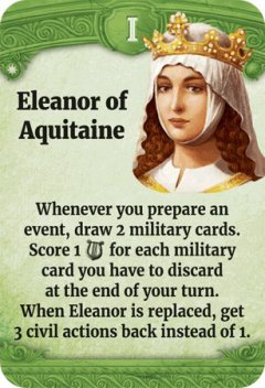 Through the Ages leader Eleonora d'Aquitania
