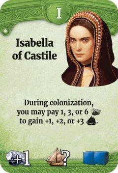 Through the Ages leader Isabella di Castiglia