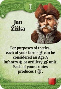 Through the Ages leader Jan Zizka
