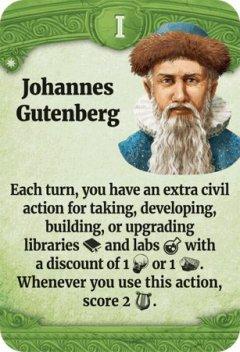 Through the Ages leader Johannes Gutenberg