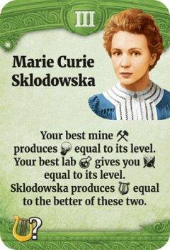 Through the Ages leader Marie Curie Sklodowska