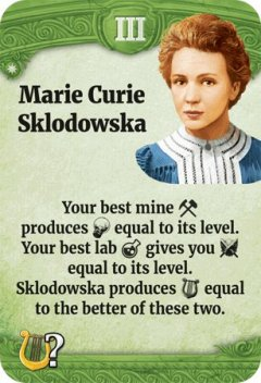 Through the Ages leader Marie Curie Sklodowska
