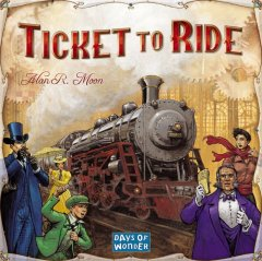 Copertina di Ticket to Ride