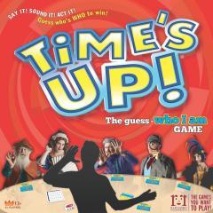 time's up copertina