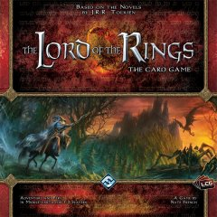 the lord of the rings card game copertina