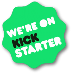 we are on kickstarter