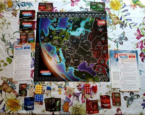 Europe Divided: setup (edizione deluxe)