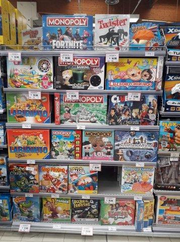 Monopoly al supermercato