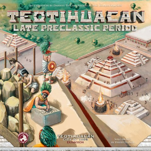 Teotihuacan: Late Preclassic Period - copertina