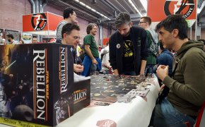 Star Wars Rebellion: tavolo al Magnifico 2017