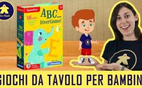 ABC…divertiamo! – Gioco da Tavolo per Bambini – Clementoni – 3+anni