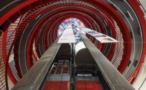 ascensore e scale