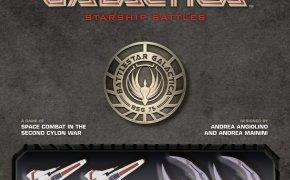 Battlestar Galactica Starship Battles copertina