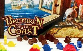 Brethren of the Coast: scatola e navi del gioco da tavolo