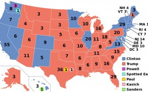 Clinton - Trump: maggioranza elezioni USA