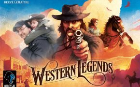 wastern legends copertina