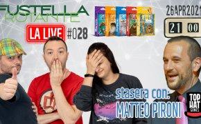 Fustella Rotante – LA LIVE #028 – 26/04/2021 – Ospite Matteo Pironi (TopHatGames) – Similo