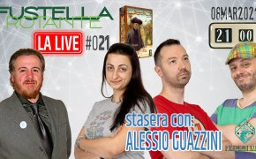 Fustella Rotante – LA LIVE #021 – 08/03/2021 – Ospite Alessio Guazzini (Federludo) – Navegador