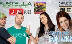 Fustella Rotante – LA LIVE #023 – 22/03/2021 – Ospite Isabella Negri – Rush & Bash