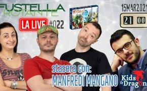 Fustella Rotante – LA LIVE #022 – 15/03/2021 – Ospite Manfredi Mangano (Kids&Dragons) – Imperial 2030