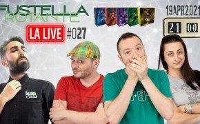 Fustella Rotante – LA LIVE #027 – 19/04/2021 – Ospite Alan d'Amico – Conspiracy